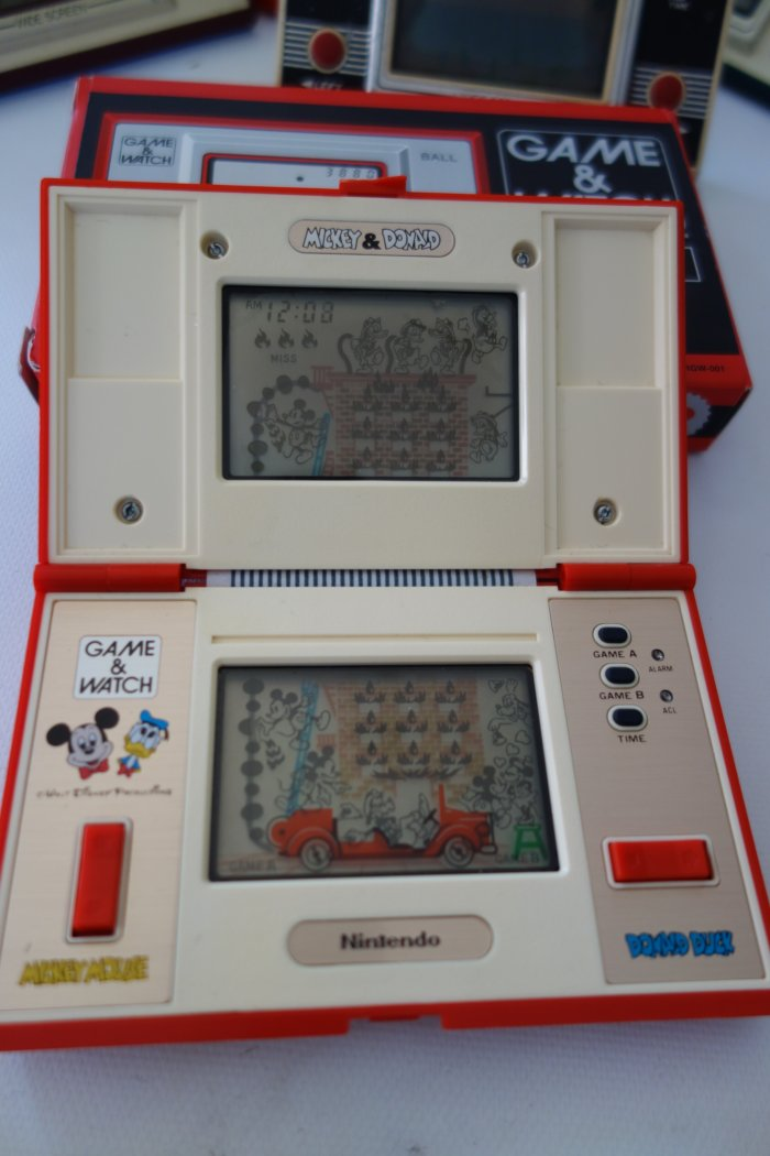 Nintendo Game Watch Collection Mickey Donald