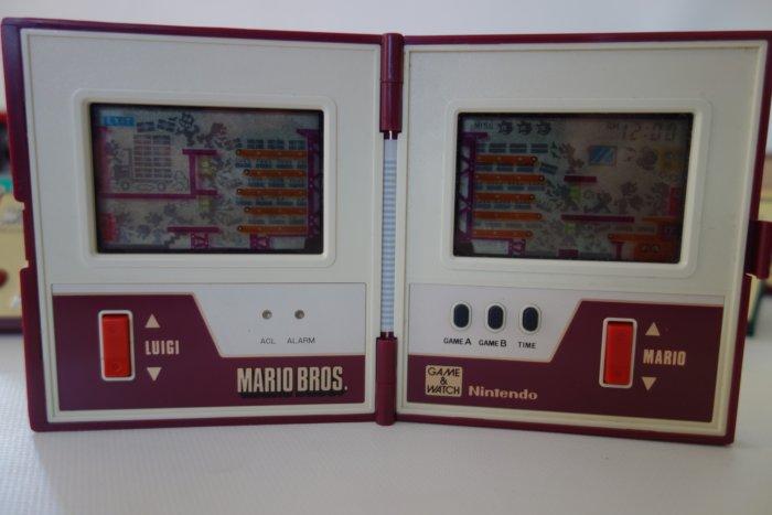 Nintendo Game Watch Collection Mario Bros