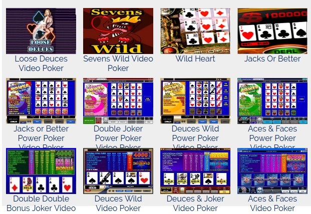 Free Video Poker Games