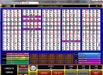 50 Play Power Poker