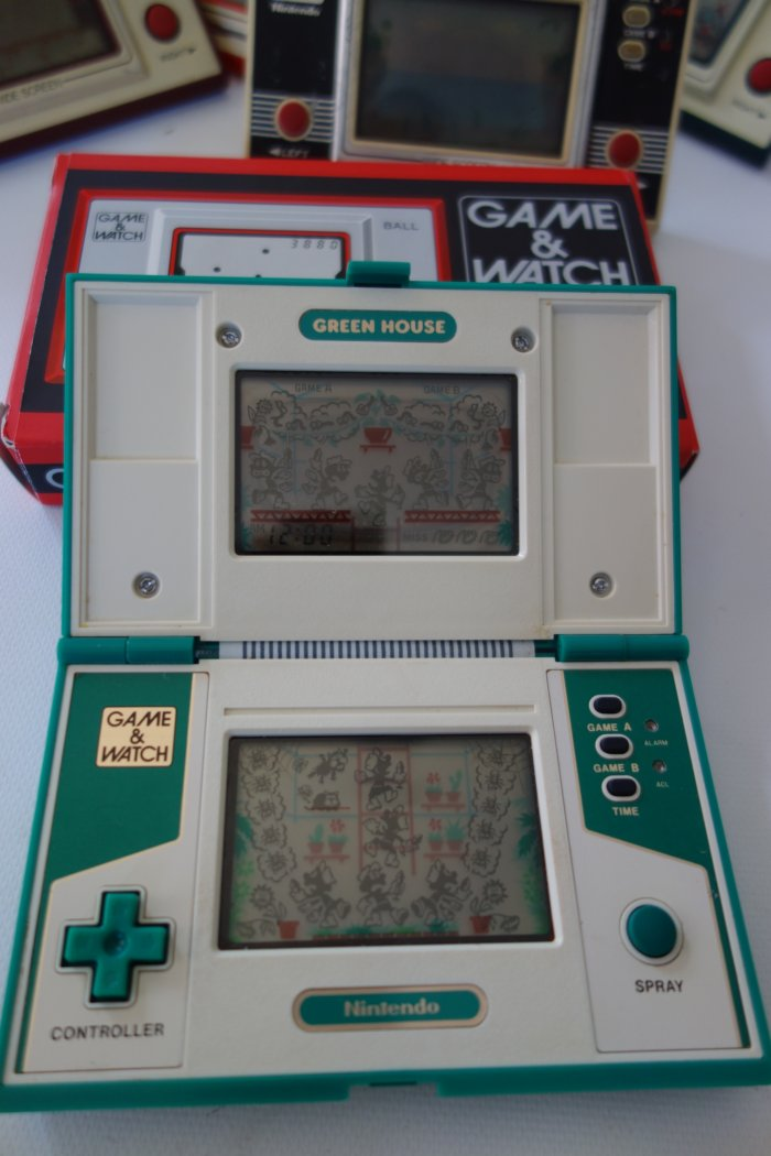 Nintendo Game Watch Collection Green House