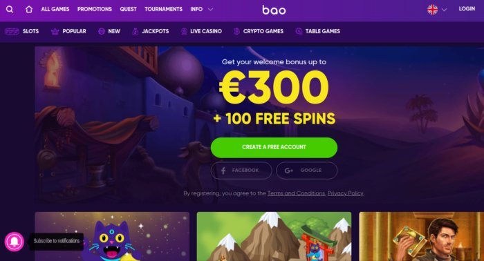 BAOcasino review