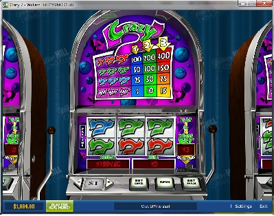 Crazy 7 Slot