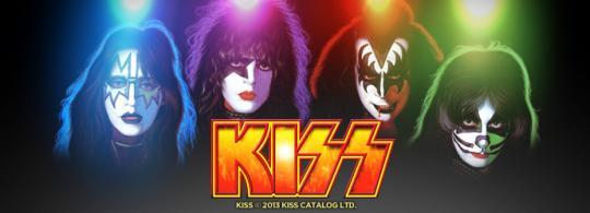 Kiss online slot game