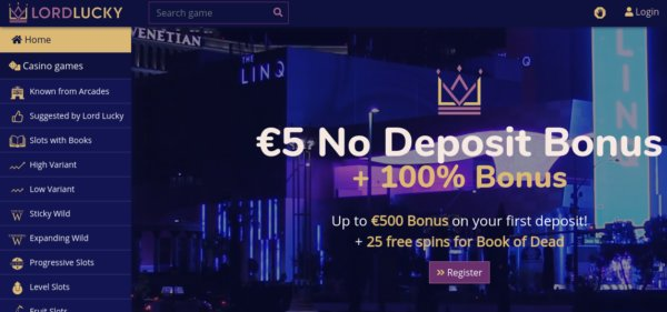 Lord Lucky Casino review