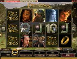 Video Slot - The Lord of the Rings: The Fellowship of the Ring