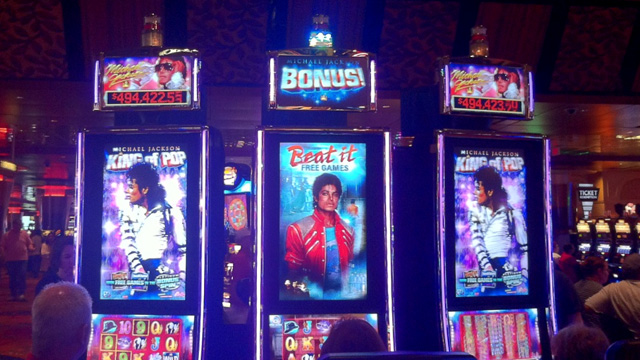 slot machine michael jackson