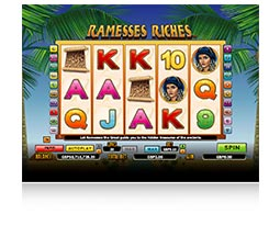 Ramesses Riches Spielautomaten