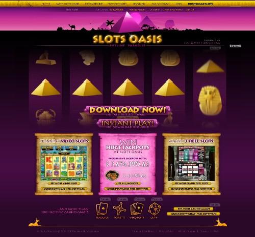 Slots Oasis Casino