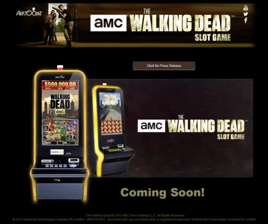 walking dead slot machine vegas
