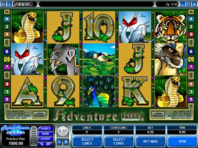 Adventure Palace Video Slot