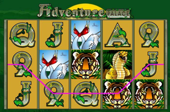Adventure Palace Slot Game