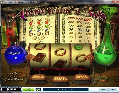 Alchemists Lab Slot