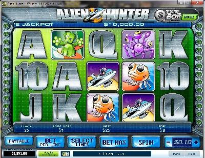 Alien Hunter Slot