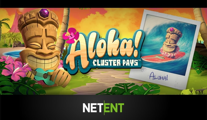 Aloha! Cluster Pays slots