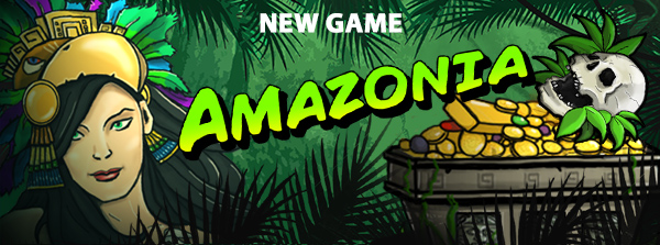 Amazonia - new slot game Winaday Online Casino