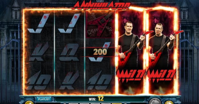 Annihilator slot game
