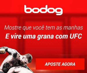 Apostar no UFC Bodog Portugues