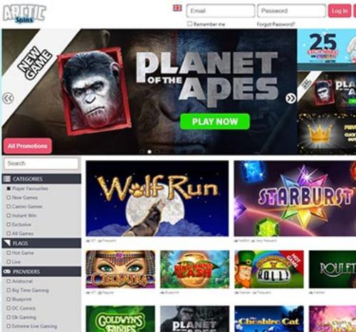 Arctic Spins Casino UK Casino