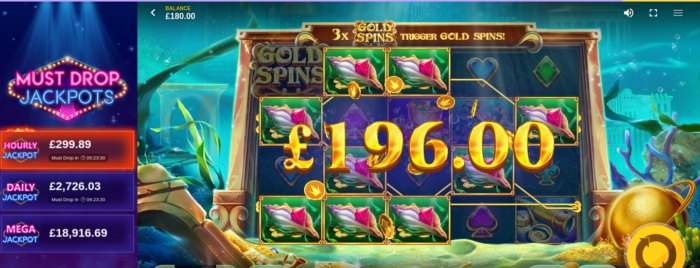 Atlantis slot game