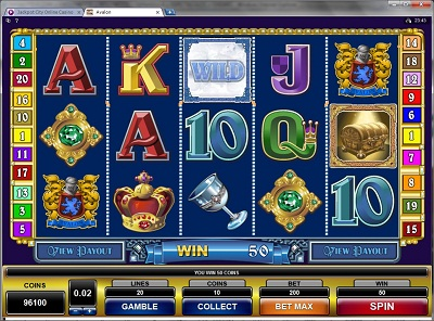 Avalon Video Slot