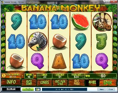 Banana Monkey Slot