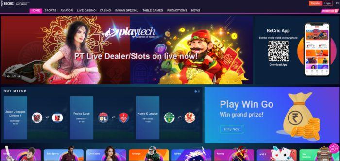 Becric Casino Games India