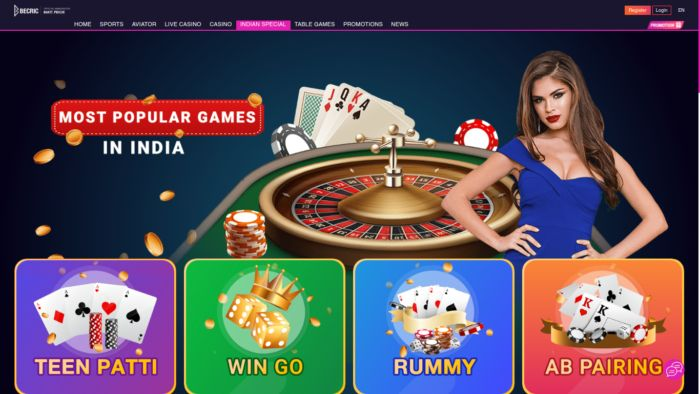 Becric Popular Games In India