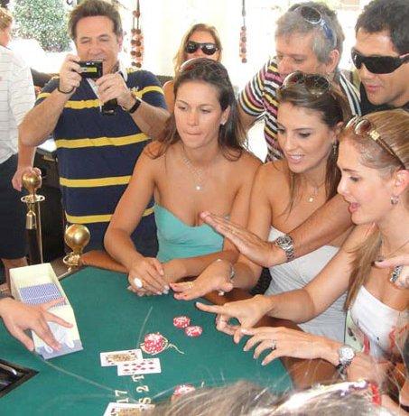 blackjack lounges in pool parties