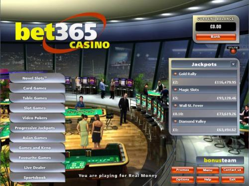 Casino em Portugues - Bet 365 Casino