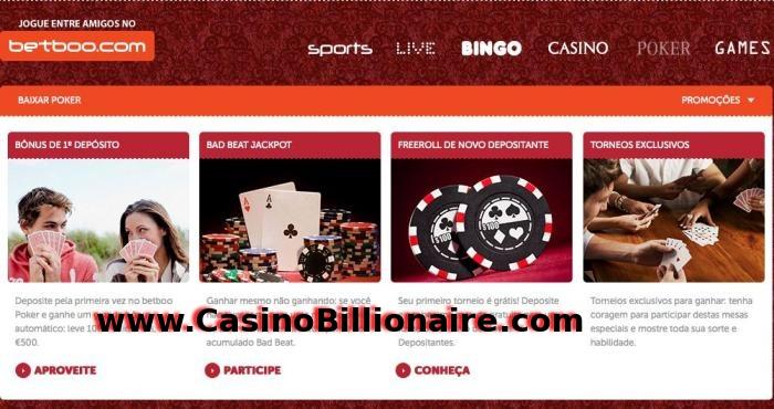 Betboo - Casino Bingo Apostar Esportes