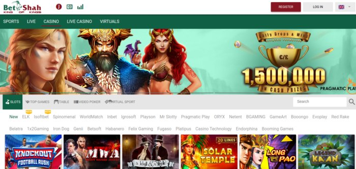 BetShah Casino and Sports betting
