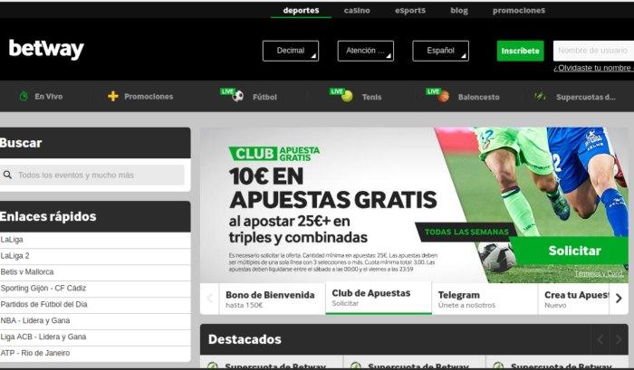Betway España - jugar Ruleta en Vivo y Apostar en Fútbol
