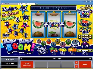 Bingo Bango Boom Slot