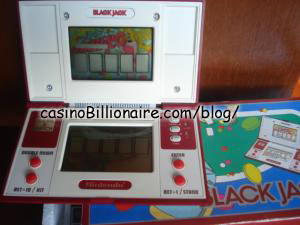 Blackjack Nintendo Game & Watch