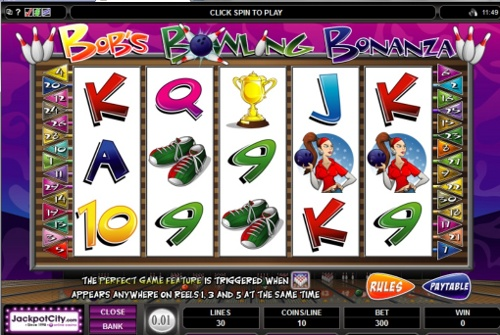 Bowling Bob Bonanza Video Slot