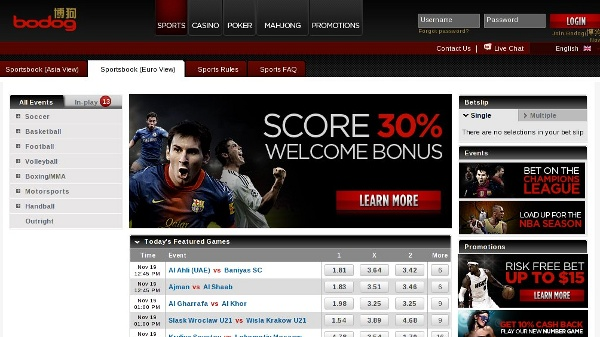 Bodog88 Sportsbook review