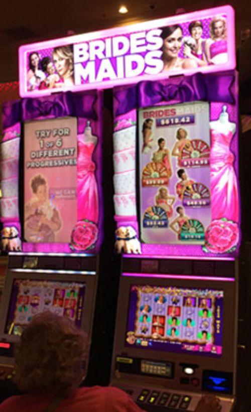 Bridesmaids Slot Machine Las Vegas Casino