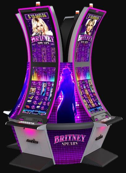 Britney Slot Machine Locations