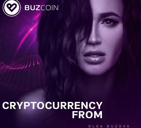 Buzcoin - Olga Buzova cryptocurrency