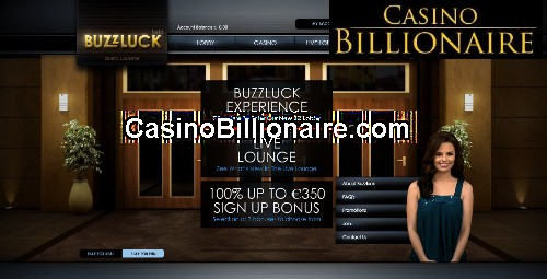 Buzzluck Casino - live and interactive online casino