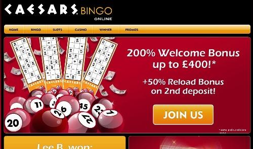 Caesars Bingo Review