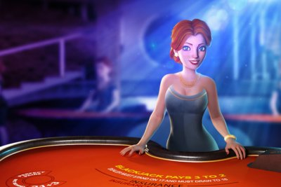Blackjack virtual dealer