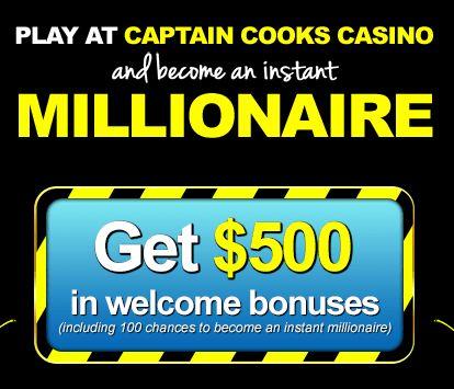Captain Cooks online casino