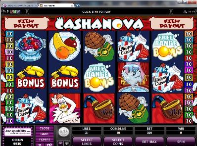 Cashanova Slots