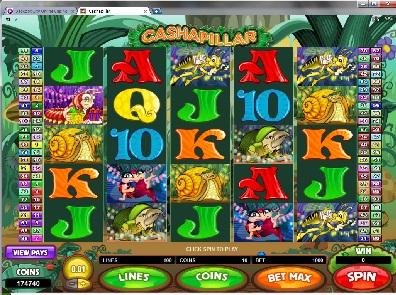 Cashapillar Slots
