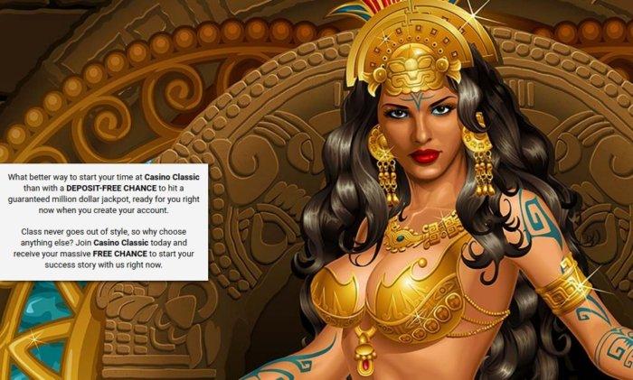 Casino Classic no deposit bonus