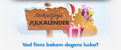 Jackpotjoy Sverige Julkalender - Vad finns bakom dagens lucka