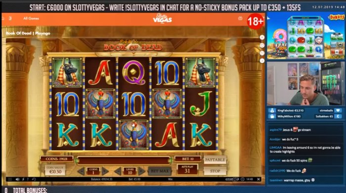 Casino Streamer - Casinodaddy