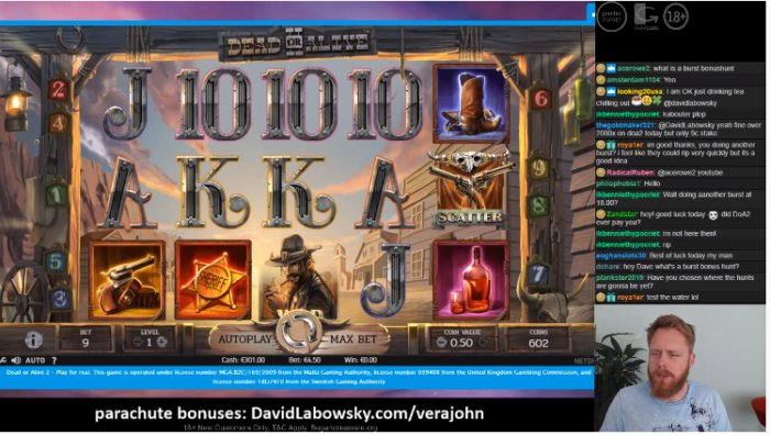 Casino Streamer - David Labowsky